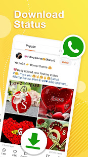 Helo Lite - Download Share WhatsApp Status Videos PC