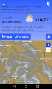 Прогноз погоды PC
