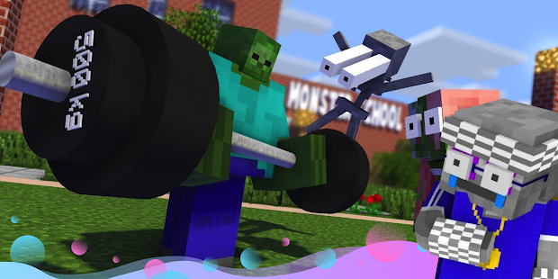 Monster School for Minecraft PC
