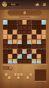 Dřevěné blokové Sudoku - Klasické Puzzle ZDARMA PC