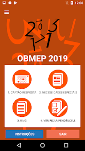 Obmep 2019 - Escolas para PC