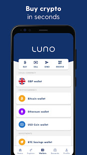 Luno: Buy Bitcoin, Ethereum and Cryptocurrency电脑版