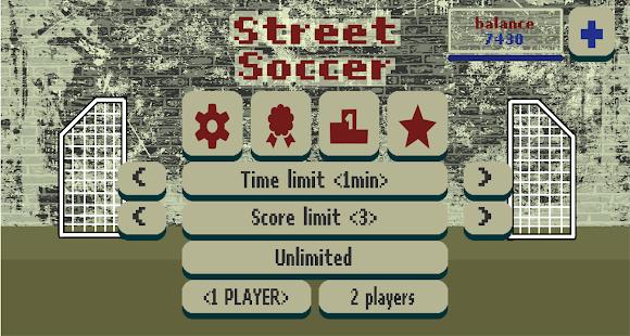 Street Soccer. Football Physics Game PC