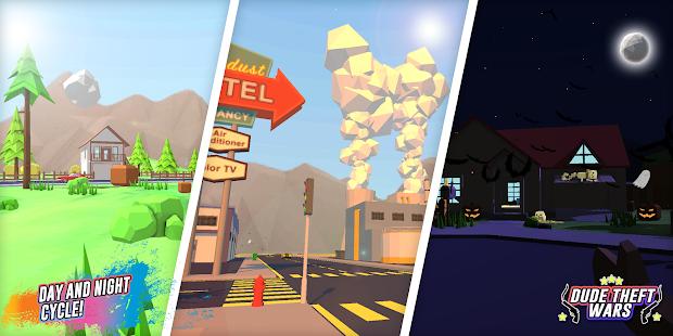 Dude Theft Wars: Open World Sandbox Simulator BETA ПК