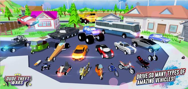Dude Theft Wars: Open world Sandbox Simulator BETA电脑版