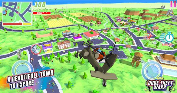 Dude Theft Wars: Open World Sandbox Simulator BETA PC