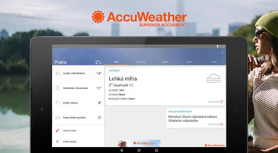 AccuWeather Počasí PC