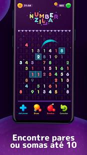 Numberzilla - Quebra-cabeça numérico para PC