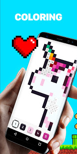 UNICORN - Color by Number Pixel Art Game PC