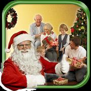 산타와 사진 PC