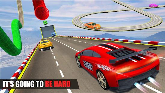 Car Stunt Racing - Mega Ramp Car Jumping الحاسوب