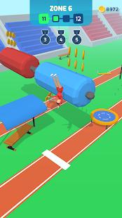 Course, saut, atterrissage PC