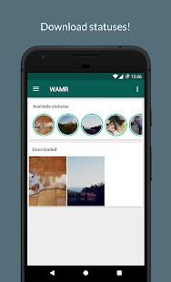 WAMR - Recupera mensajes borrados, descarga estado PC