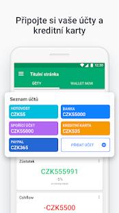 Wallet - správa peněz, výdaje, rozpočty, finance PC