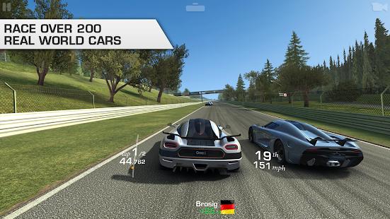Real Racing  3 الحاسوب
