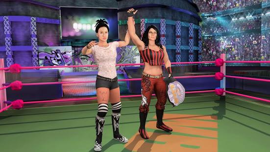 Bad Girls Wrestling Rumble: Mulheres Jogos de Luta para PC