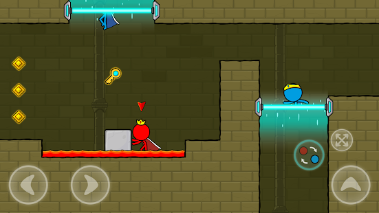 Red and Blue Stickman : Animation Parkour电脑版