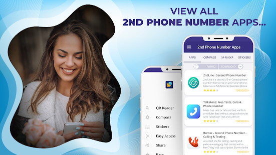 2nd Phone Number Apps All in One - Virtual Line PC