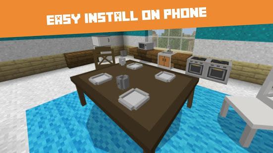 Furniture MOD for Minecraft PE الحاسوب