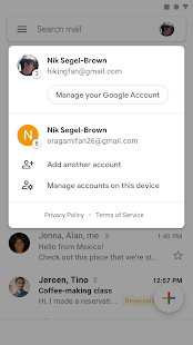 Gmail ПК