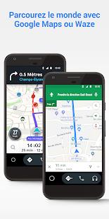 Android Auto : Google Maps, multimédia et messages PC