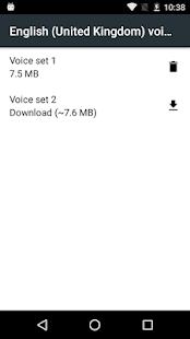 Síntese de voz Google