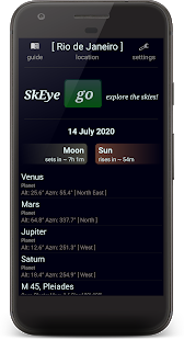 SkEye  | Comet NeoWise | Astronomy | Sky Map para PC
