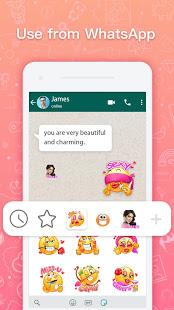 Love Roses Stickers For WhatsApp - Kiss GIF电脑版