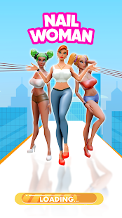 Nail Woman: Baddies Long Run, High Women Nails PC
