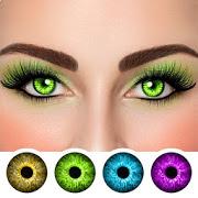 لون العين مبدل محرر الصور: تغيير لون العين الحاسوب