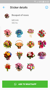 WAStickerApps Roses PC