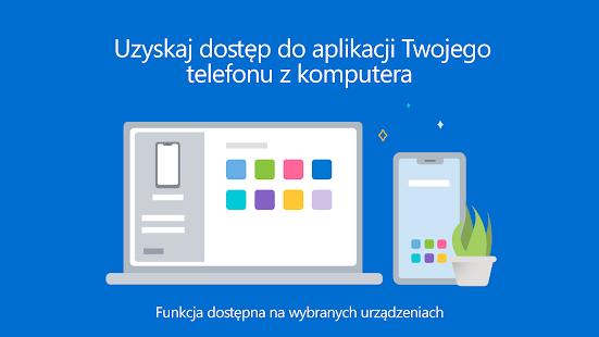 Pomocnik aplikacji Twój telefon — Łącze do Windows PC
