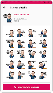 Sunda Stiker Lucu WAStickerApps PC