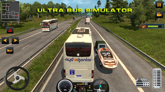 Ultra Bus Simulator 2021 الحاسوب