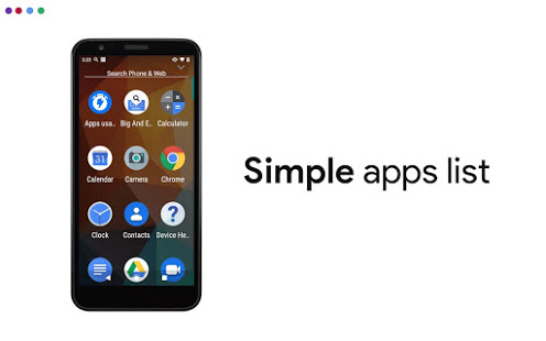 Simplified Home Screen - Launcher and Easy Icons PC