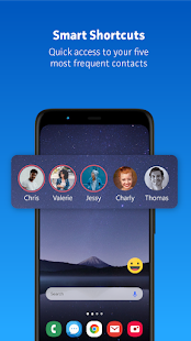 Messenger Home - SMS Widget and Home Screen PC