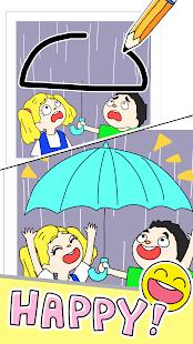 Drawing games-Draw Happy Life- الحاسوب