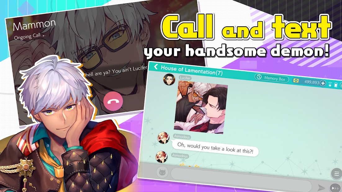 Download Obey Me! Shall we date? - Anime Dating Sim Game