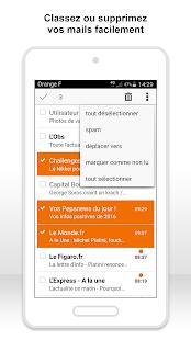 Mail Orange, 1er mail français PC
