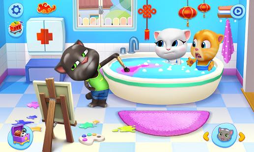 湯姆貓總動員 - 最佳虛擬寵物麻吉歡樂同堂!電腦版