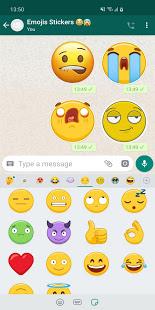 Stickers de Emojis Animados en 3D WAStickerApps PC