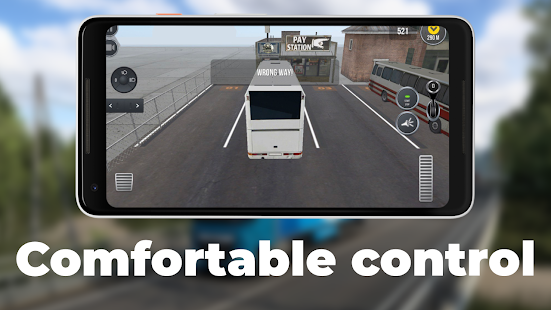 Professional bus and truck driver PC