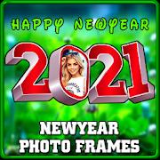 2021 Newyear Photo Frames الحاسوب