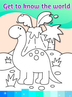 Coloring Pages Kids Games with Animation Effects PC
