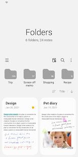 Samsung Notes PC