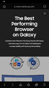 Samsung Internet 브라우저 PC