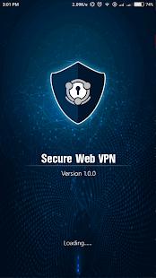 Secure Web VPN الحاسوب