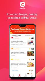 Cashzine: dapatkan jadi duit, Baca buzz newsbreak! PC