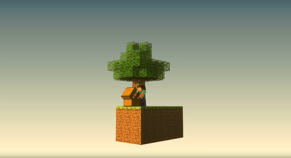 SkyBlock for Minecraft PE الحاسوب