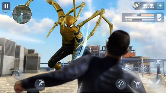 Spider Rope Hero - Gangster New York City PC